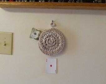 Pull tab change purse #28