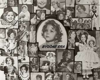 Shirley Temple Rare Collage Hollywood Poster Art Photo 11x14