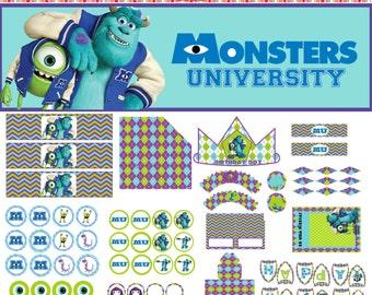 Monster University Party Pack