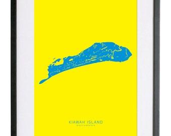 """Kiawah, South Carolina 18"""" x 24"""" FRAMED Print"""