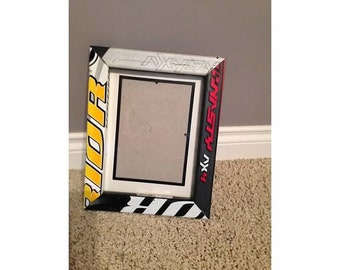 Hockey Stick Picture Frame 5x7 with Matting