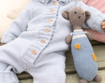 Knitted jumpsuit for Infants, Babies and Newborns