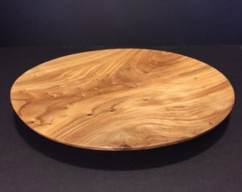 Warped Elm Platter