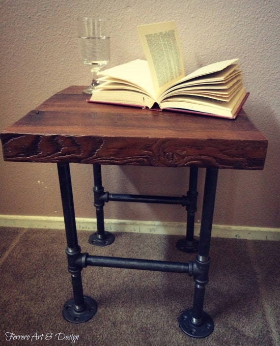 steampunk nightstand steampunk nightstand industrial decor steampunk decor 780