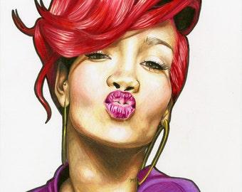 Rihanna Prints