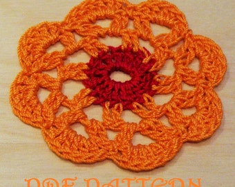Crochet Flower PDF Pattern Venice
