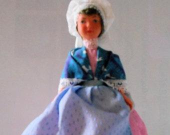 Old folk doll - French Region - Provence?