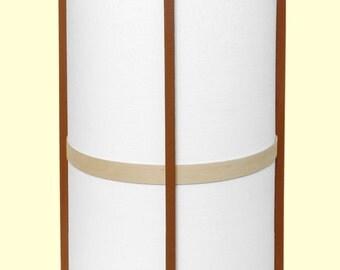 George Nakashina style Handcrafted California Redwood Arts & Crafts Lamp