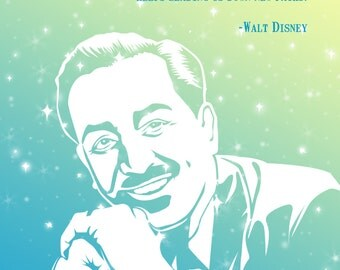 Walt Disney Inspirational Art Print Home Decor