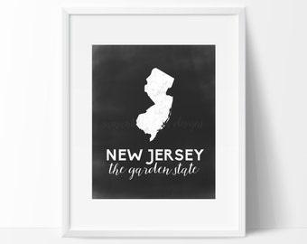 New Jersey Printable