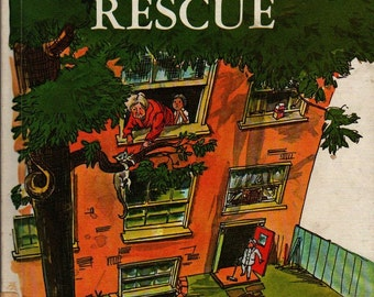 Mrs. Moon's Rescue - Pearl Augusta Harwood - George Overlie - 1967 - Vintage Book