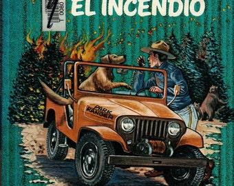 Don, El Guardabosque Y El Incendio - Robert Whitehead - 1978 - Vintage Book