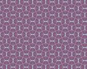 1/2 yard  Empire Weave in Amethyst by Joel Dewberry  / Heirloom Collection   Cotton Quilt Fabric Apparel