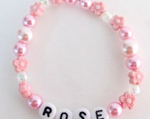 Party Favors Girls Name Bracelet Birthday Party Return Gifts Order Girl Name For Birthday Party Free Shipping In USA