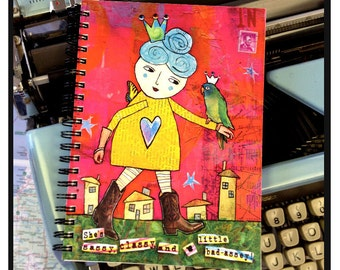 She's sassy, classy and a little bad-assey!- NOTE BOOK