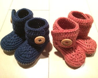 Baby Booties (Newborn to Toddlers)
