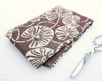 traditional batik silk/linen suiting