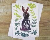 Bunny Blank Greeting Card