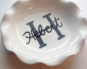 Custom deep dish baker or pie server monogrammed name