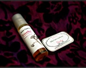 Dianthus Natural Perfume Roller inspired by carnations  All natural essential oil EDP with marjoram, black pepper, clove, tagette