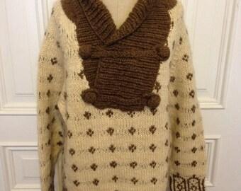 Vintage australian wool pull over sweater