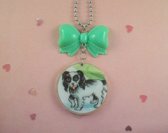 Puppy Bow Necklace