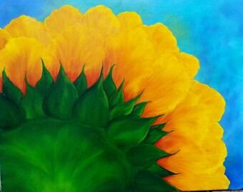 Sunflower Oil Painting