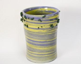 Swirly Gravel Vase I