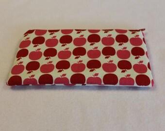 Pencil Case Cosmetic Bag Gadget Case Zipper Pouch Apples Cherries