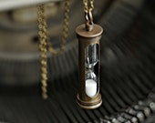 Hour Glass Necklace
