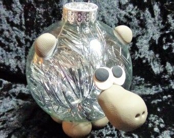 Hippo Ornapet Ornament
