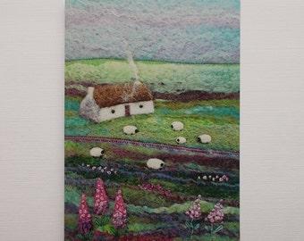 Lagan Cottage Printed Greetings Card