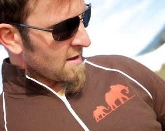 Elephant Family Unisex Track Jacket