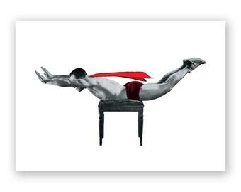 Superman - Blank Card