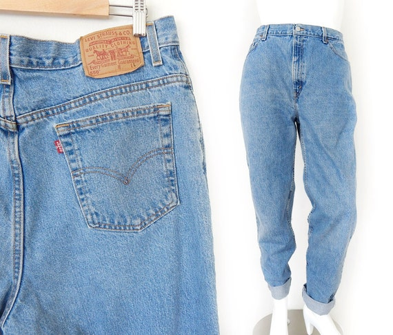 Vintage 90s Levi's 550 Plus Size High Waist Jeans Size