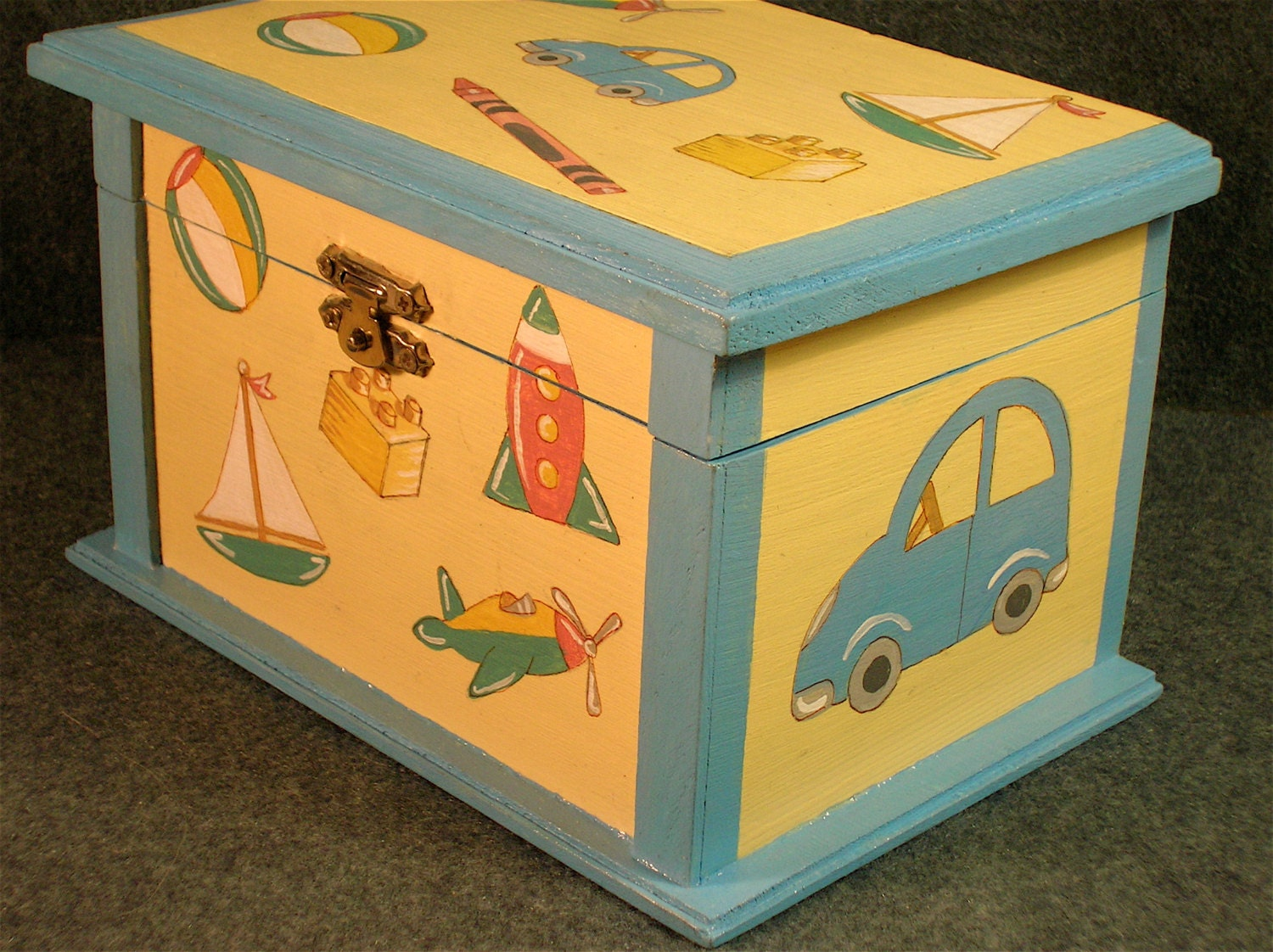 Toy Storage For Boys : Child s small toy box boy storage