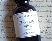 Chocolate Mint Extract Organic Artisanal Handmade Small Batch Made in Brooklyn, NY