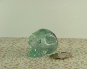 Fluorite Skull-5