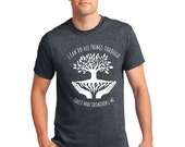 I can do all these through christ who strengthens me Dark Heather Tshirt T-shirt