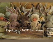Dust Bunnies and Quackers EPATTERN