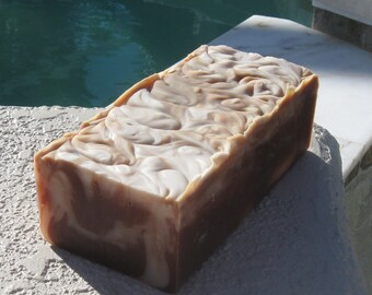 Mahogany 2 Pounds Cold Process Soap Loaf More loaves in my store