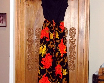 Maxi Dress ,by Julie Miller oF CALIFORNIA size 10 Excellent Condition