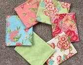 Fabric Destash no. 122, 123 -- 6 Fat Quarters