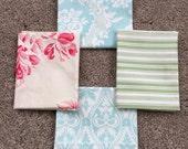 Fabric Destash no. 192 -- 4 Fat Quarters