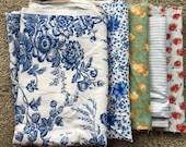 Fabric Destash no. 266 -- Various Blue Prints