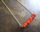 Scarlet Glass Serenity Chain necklace