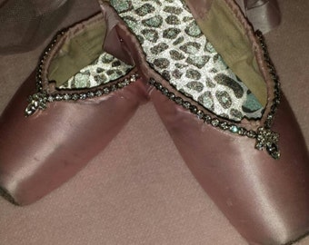Embellished Pointe Shoes