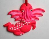 Pink Cthupid Ornament