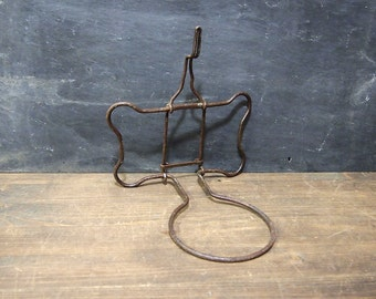 Free Shipping Unusual Metal Hook Sconce whatsit for wall candle leash coat holder etc  You decide what to use it for