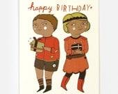 Birthday Time - Greeting Card